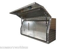 Tiger High Sided Ute Tool Box 1450 x 500 x 700mm. Aluminium Checker Plate