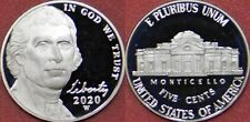 Proof 2020W US Jefferson 5 Cents From Mint's Set