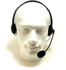 Comfy 3.5mm Headphone Headset With Microphone MIC Computer PC Laptop MSN Chat