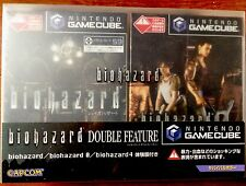 BIOHAZARD DOUBLE FEATURE RESIDENT EVIL GAMECUBE NINTENDO (JP) NTSC BRAND NEW
