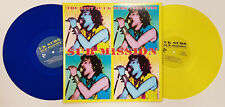 UK SUBS 'Sub Mission: the best of 1982-1998' 2xLP yellow & blue vinyl limited ed