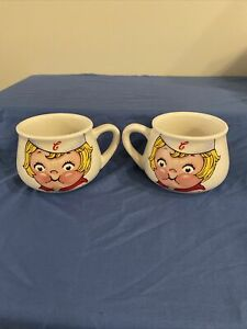 Vintage Campbell's Kids Soup Mug Cup 1998 Coffee Cup - Two Soup Mugs Included