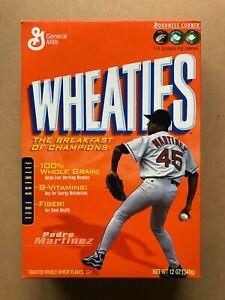 2004 Pedro Martinez Empty Wheaties Box - Boston Red Sox - Training With Pedro