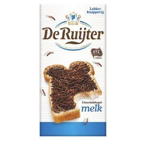 De Ruijter Milk Chocolat Sprinkles 390g Dutch, Holland, NL