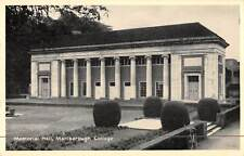 uk18898 memorial hall marlborough college real photo uk