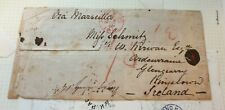 Hong Kong PAID 1862 native cover to IRELAND RARE ex CAVENDISH auctions London.