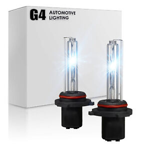G4 AUTOMOTIVE 2x H4 HID Bulbs AC 35W Headlight Replacement All Color for Toyota