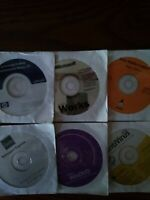 NEW Computer disks Microsoft works 7.0 Easy Media creator,norton antivirus more