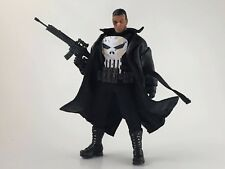 Mezco one 12 Punisher PX Exclusive Black Trench coat 2.0 WIRED version by ERIKU