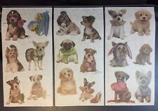 Dogs, Puppies Washi Paper Stickers, Kawaii