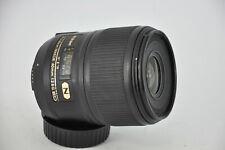 Nikon AF-S Micro Nikkor 60mm f/2.8 G ED FOR D700,D3,D3S,F6,F4,F5,D80,D90