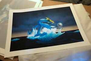 Roger Dean Hand Signed PRINT ASIA DRAGON A2