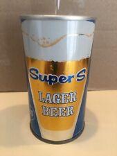 New listing Super S Zip Top Bo Beer Can,Grace Bro's. Brewing Co. Santa Rosa,Ca Scarce Sweet!