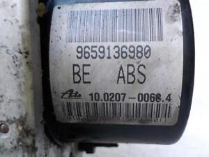 Peugeot 206 207 Citroen C2 C3 Pompe ABS 9659136980 10.0207-0068.4 10.0970-1128.3