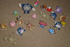 19 Lot Pokemon Burger King Toys-Keychains-Figures-Hitmonlee-plus a folder