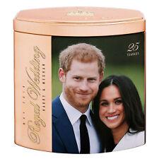 English breakfast tea Royal Wedding Harry & Meghan 25 Teabags Rose Gold Caddy