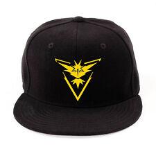 Pokemon Go Team Valor Mystic Instinct Adult Kids Cap Baseball Snapback Sun Hats