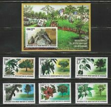 2019 25th Anniv. Forrest Martiano Del Ariguanabo Caribbean Island Mnh + S/S Set