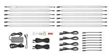 Luminus Solutions 12 Inch Warm White Modular Under Cabinet Lighting 12 Panel Kit