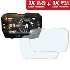 Ducati Panigale V4 2018+ Screen Protector: 1 x Ultra-Clear & 1 x Anti-Glare