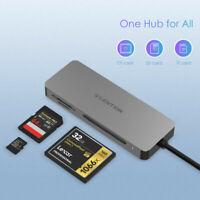LENTION 3-in-1 USB C auf SD/Micro SD TF CF MMC Speicherkartenleser Adapter