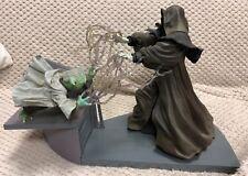 1/7 Star Wars Episode III Yoda versus Palpatine figures by Kotobukiya KSW-31