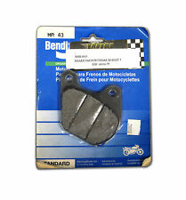 BENDIX MA 43 BRAKE PADS 80-83 FLH/T FRONT 79-81 XL REAR HARLEY ELECTRA GLIDE