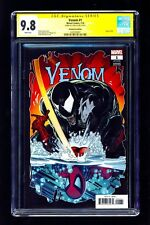 Venom #1 CGC 9.8 SS (2018) - Remastered Ed. McFarlane Cover - Signed Stan Lee