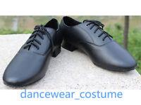 Men Leather Party Ballroom Latin Tango Modern Samba Salsa Dance Shoes US7.5-10.5
