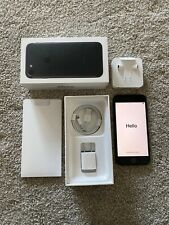Used Apple iPhone 7 Black - 128GB - Verizon - Unlocked Factory Reset