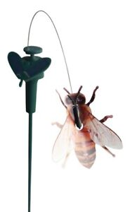 Solaration 7006 Solar Powered Fluttering Bumble Bee, Outdoor Fly Flapping Insect
