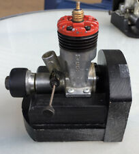 1961 McCoy 19 Red Head Stunt model airplane engine vintage .19 control line CL
