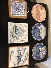 Plates.ceramic Historical Scenes. No Chips/Cracks.C12Pix4Size&Detail, MAKE OFFER