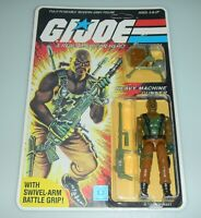 *RECARDED 1984 GI Joe Roadblock v1 Figure Complete Sealed *CUSTOM File Card Back