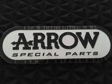 ARROW especial resistente a prueba de calor De escape Tubos de Escape 3D Aluminio Adhesivo Calcomanía