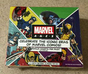 2020 2021 Upper Deck UD Marvel Ages Hobby Box Factory Sealed Trading Cards New