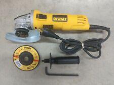 """DEWALT 4-1/2"""" 7 Amp Angle Grinder Model# DWE4011"""