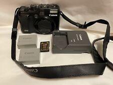 Canon PowerShot G10 14.7MP Digital Camera - Black - EUC plus extras