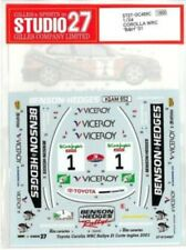 "STUDIO27 1/24 TOYOTA COROLLA WRC ""B&H""'01 DC499C Decal"