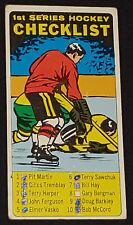 1964/65 - TOPPS - TALL BOY - CHECK LIST  1st SERIES - NHL - HOCKEY - CARD No.54