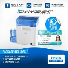 New NiSCA PR-C201 Retransfer Card Printer • Free UK Delivery • ID Management