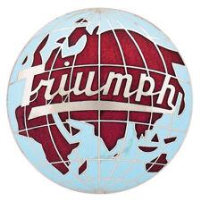 Triumph TR2 TR3 TR3A Medallion Hub cap Triumph / Globe logo Red/blue 1953-1961