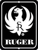 """RUGER Firearms Metal Aluminum Tin Sign 9"""" x 12"""""""