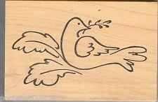 Inky Antics Rubber Stamp 9882-K Wedding Dove, Christmas Dove, S39