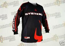 PAINTBALL  JERSEY ( NEW )   SYSTEM X     ( RED )