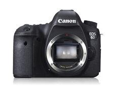 Canon EOS 6D 20.2MP Digital SLR Camera - Black (Body only) UK STOCK