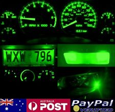 Green Full LED Conversion Kit (dash HVAC Parker ect) Holden Commodore VT VX
