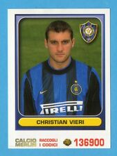 MERLIN - CALCIO 2001 -Figurina n.149- CHRISTIAN VIERI - INTER - NEW