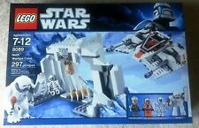 RETIRED Star Wars Lego 8089 HOTH WAMPA CAVE 100% COMPLETE w/ BOX & INSTRUCTIONS
