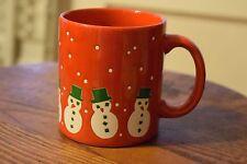 Waechtersbach Red Snowman Coffee Mug Cup Christmas Holiday Germany